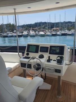 Boat rental Corfu cheap GTX55