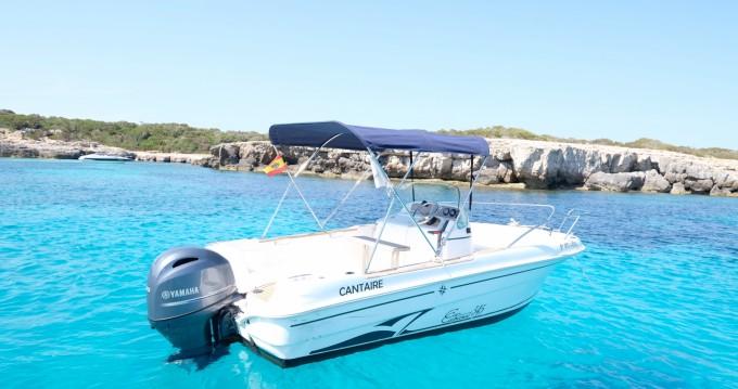 Rental yacht Cala'n Bosch - Jeanneau Cap Camarat 545 Open on SamBoat