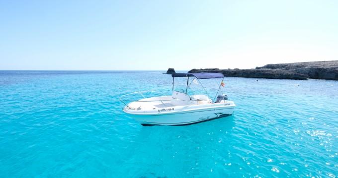 Boat rental Cala'n Bosch cheap Cap Camarat 545 Open