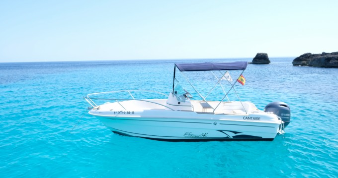 Motorboat for rent Cala'n Bosch at the best price