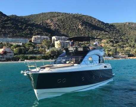 Bénéteau Monte Carlo 5 between personal and professional Ajaccio