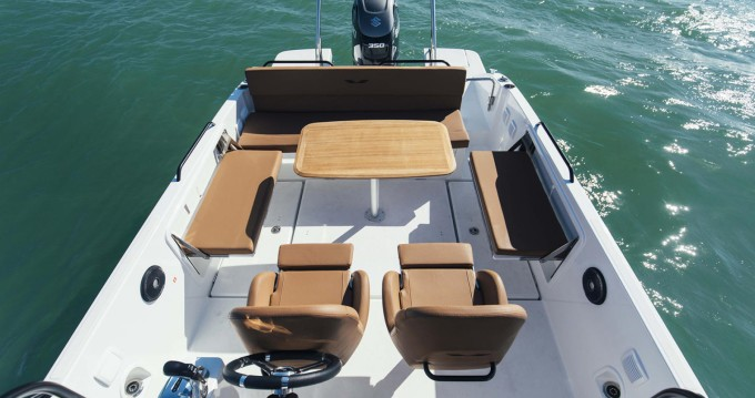 Boat rental Ajaccio cheap Flyer 8 SPACEdeck