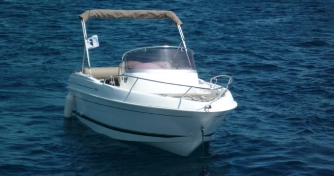 Boat rental Bastia cheap Cap Ferret 552 Open