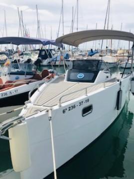 Boat rental Sitges cheap Nuva M6