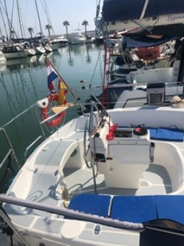 Hire Sailboat with or without skipper Hunter Sitges