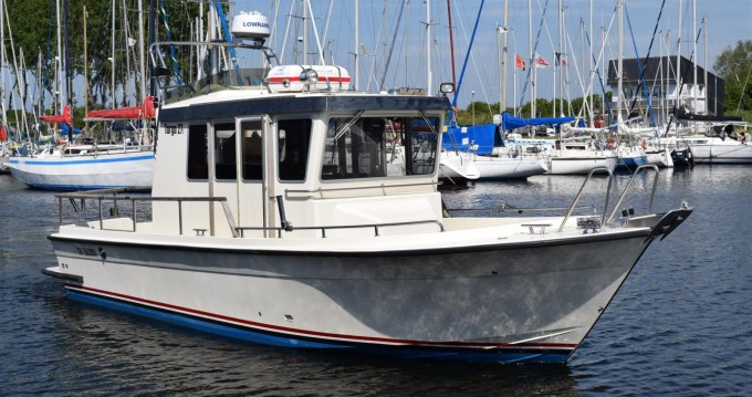 Rental Motorboat Botnia Marin with a permit