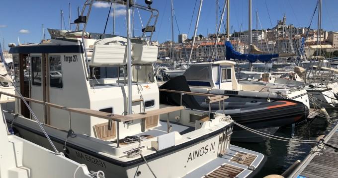 Rent a Botnia Marin Targa 27.1 Marseille