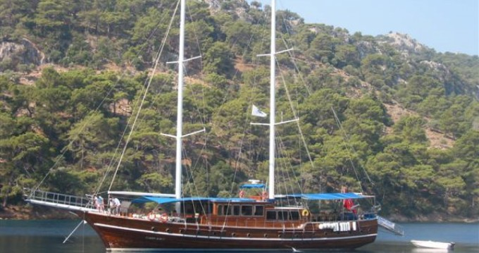 Hire Sailboat with or without skipper ketc Antalya