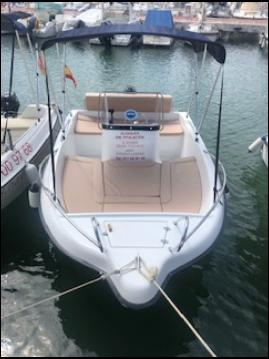 Rental yacht Sitges -  POLYESTER YACT MARION 450 on SamBoat