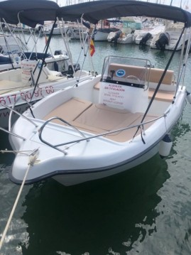 Hire Motorboat with or without skipper  POLYESTER YACT Sitges