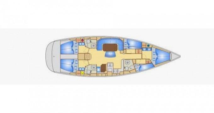 Boat rental Sukošan cheap Bavaria 50 Cruiser