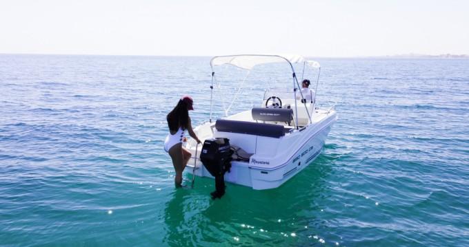 Rent a AM Yacht EGO 500 CS La Manga del Mar Menor