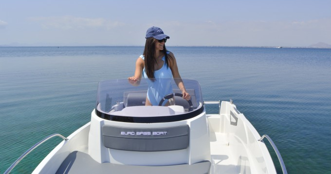 Hire Motorboat with or without skipper AM Yacht La Manga del Mar Menor