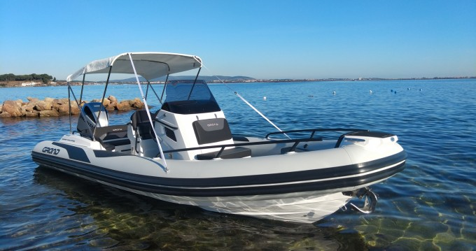 Hire RIB with or without skipper Grand Boats Mèze