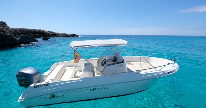 Hire Motorboat with or without skipper Pacific Craft Cala'n Bosch