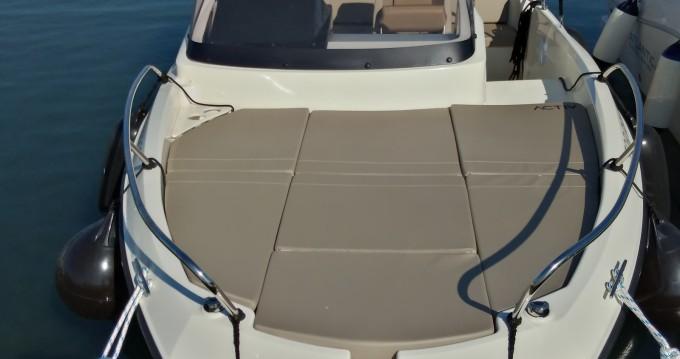 Boat rental Quicksilver Activ 605 Sundeck Pack Sport in Pula on Samboat