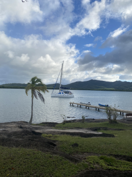 Rental Catamaran 8 pers with a permit