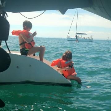 Rental Catamaran Solaris with a permit