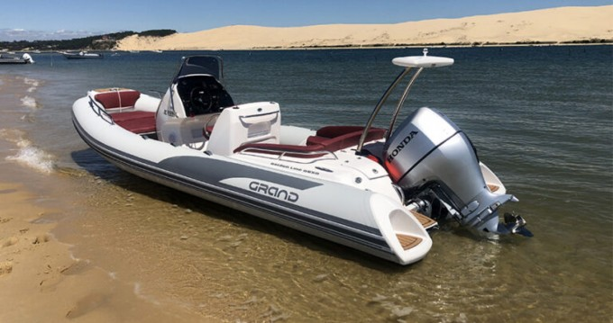 Hire RIB with or without skipper Grand Boats Cap Ferret