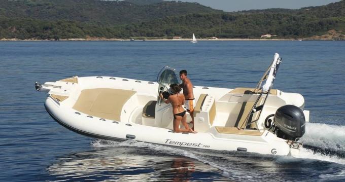 Rental yacht La Londe-les-Maures - Capelli Tempest 700 Sun on SamBoat