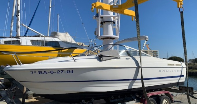 Motorboat for rent Empuriabrava at the best price