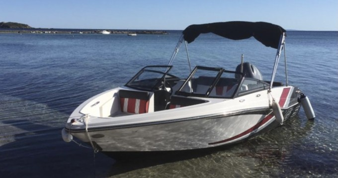Rental Motorboat in Santa Eulària des Riu - Glastron GT 185