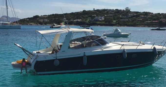 Rental Motorboat Baia with a permit