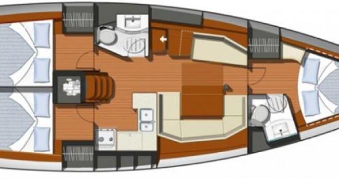 Rental yacht Cádiz - Jeanneau Sun Odissey 42i on SamBoat