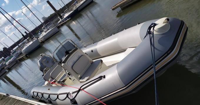 Boat rental Étaples cheap Sunrider 650 Gris