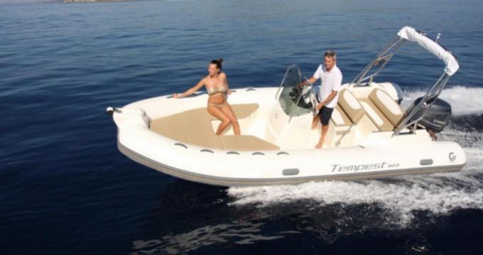 Boat rental Saint-Raphaël cheap Tempest 600