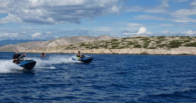 Boat rental Sea-Doo GTI 170  in Krk on Samboat