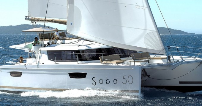 Boat rental Fountaine Pajot Saba 50 in Athens on Samboat
