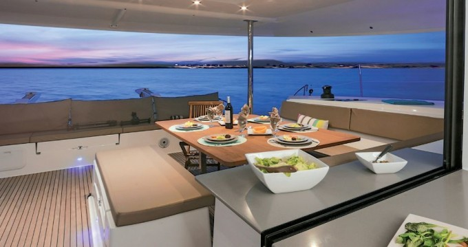 Fountaine Pajot Saba 50 between personal and professional Athens