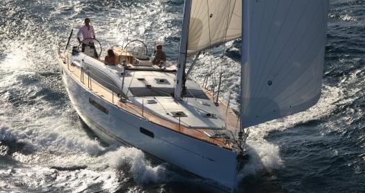 Boat rental Athens cheap Jeanneau 53