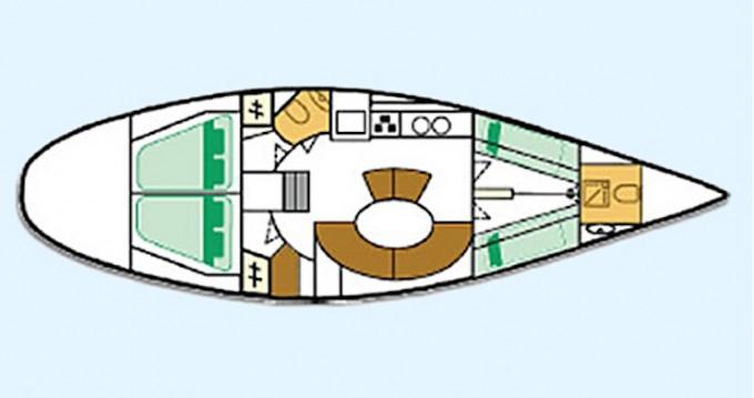 Rental Sailboat in Heraklion Port - Bénéteau First 45 F5