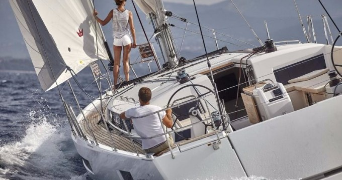 Jeanneau Sun Odyssey 490 between personal and professional Athens