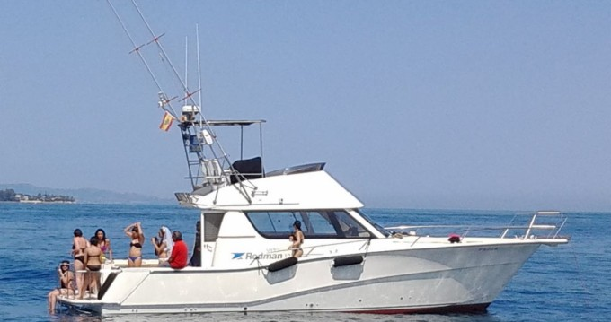 Hire Yacht with or without skipper Rodman Puerto Banús