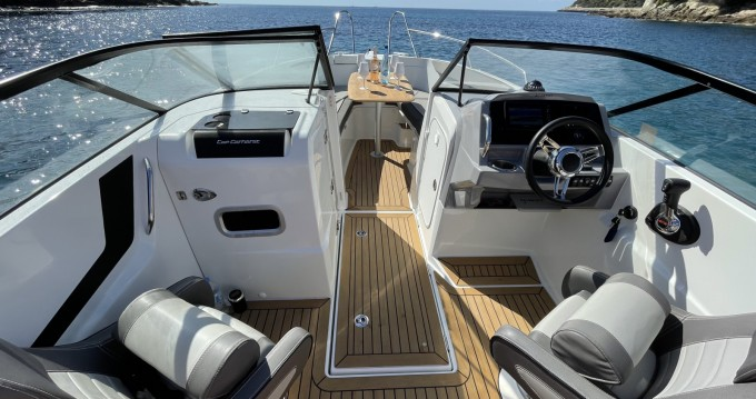 Rental Motorboat in Antibes - Jeanneau Cap Camarat 7.5 BR