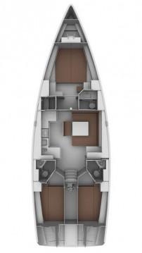 Rent a Bavaria Cruiser 45 Lefkas Egremni