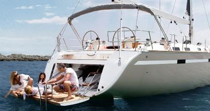 Bavaria Cruiser 45 between personal and professional Lefkas Egremni