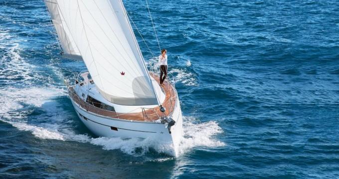Bavaria Cruiser 46 between personal and professional Lefkas Egremni