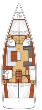 Boat rental Lefkas Egremni cheap Oceanis 48