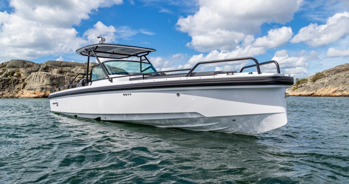 Boat rental Athens cheap Axopar 28 T-Top