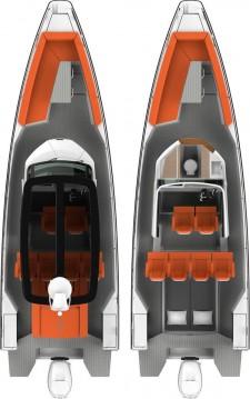 Rental Motorboat in Athens - Axopar Axopar 28 T-Top