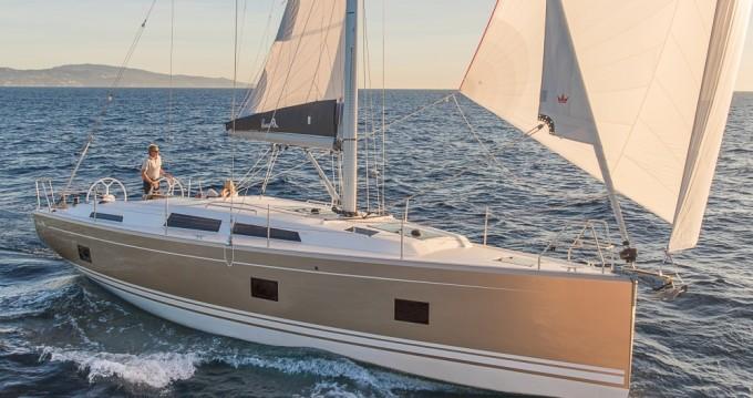 Rental yacht Athens - Hanse Hanse 418 on SamBoat