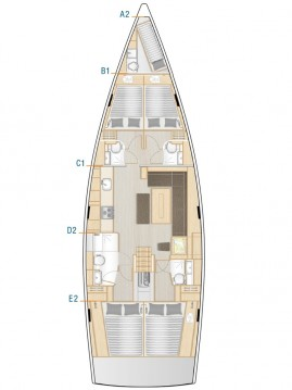 Rental Sailboat in Athens - Hanse Hanse 508