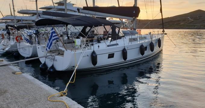 Rental yacht Athens - Hanse Hanse 508 on SamBoat