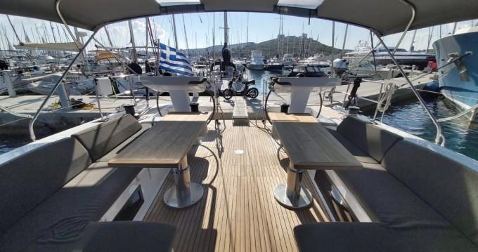 Boat rental Athens cheap Hanse 548 - 4 + 1 cab.