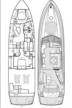 Rental yacht Split - Sunseeker Sunseeker Predator 72 on SamBoat
