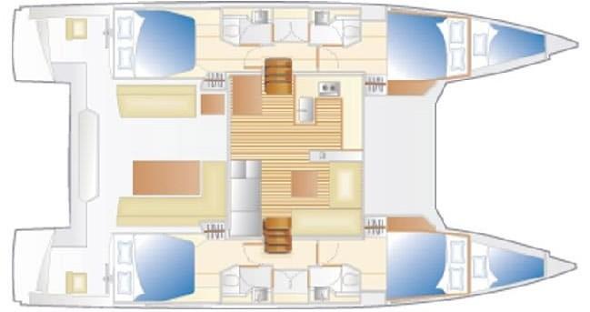 Boat rental Follonica cheap Nautitech 46 Fly